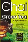 Chai Green Tea and Spearmint 25 tea bags / Зелен чай и мента